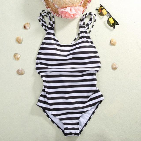 Monokini Striped Padded - GaGodeal