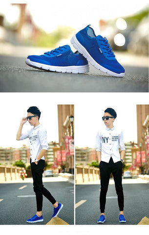Men Sneakers Breathable Casual Shoes