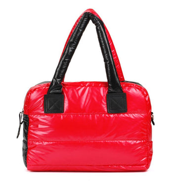 edition down cotton-padded handbags