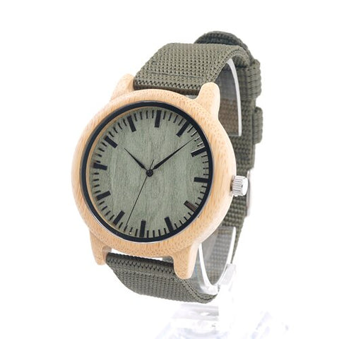 Wood Bamboo Watch Brand Designer Watches