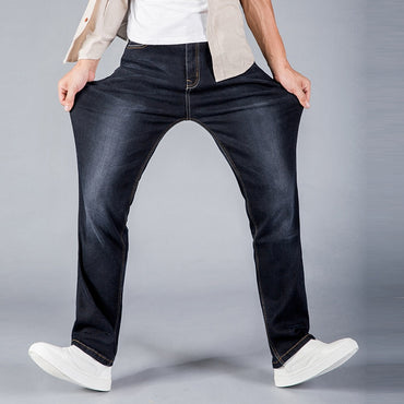 Loose fit Denim  Slim Straight Jeans