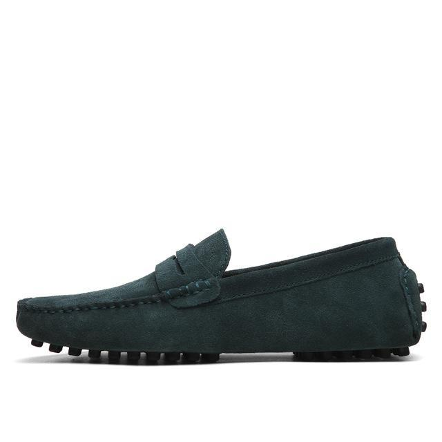 Men Casual Suede Leather Loafers Shoes