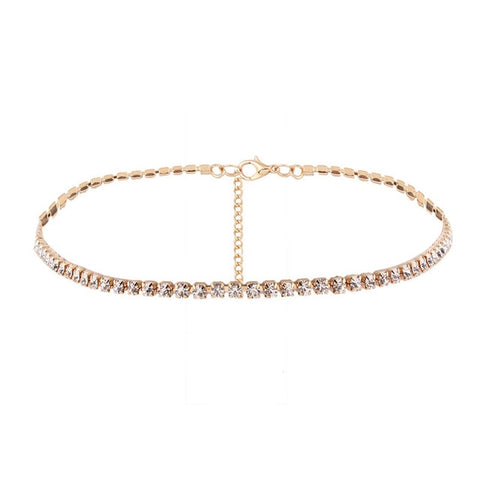 Jewelry Accessories Luxury Rhinestone Choker Necklace
