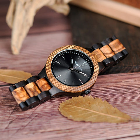 Classical Wood Timepieces Watch