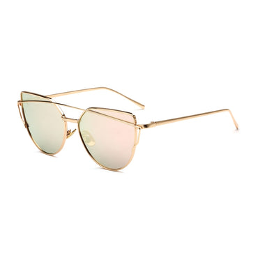 Retro Oversize Cat Eye Sunglasses