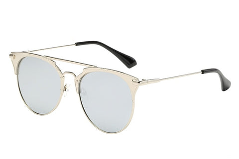 Fashion Brand Design Round Sunglasses