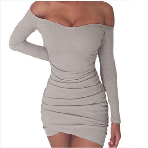 Ruched  Elegant Dress
