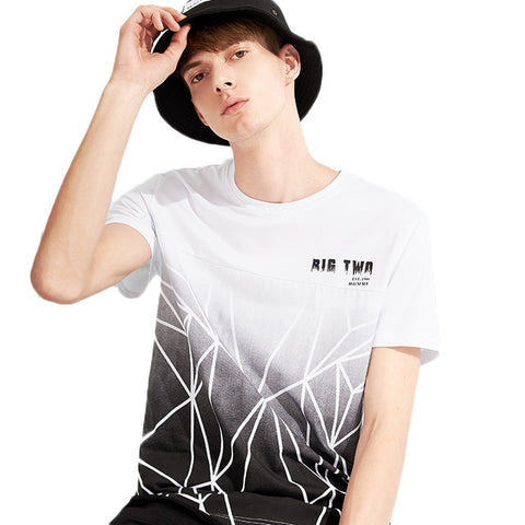 Pioneer Camp fashion pattern men T shirt brand-clothing casual summer Tshirt