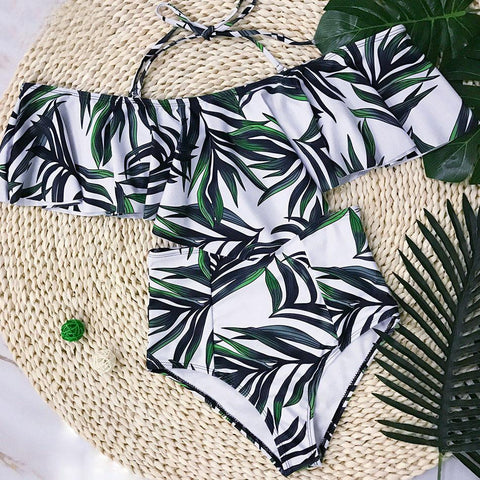 Set High Waist Swimwear