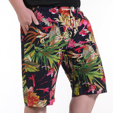 Loose Beach Shorts Floral Casual Shorts
