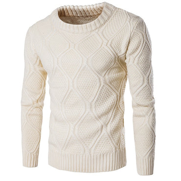 Woolen Knitwear  O neck Long Sleeve Slim Warm Sweaters
