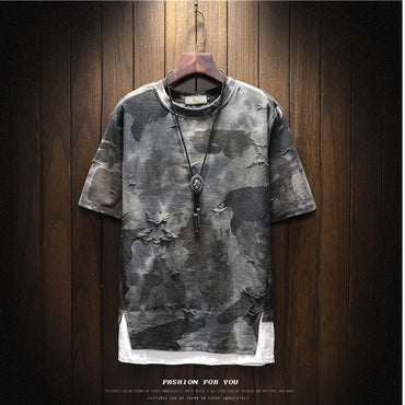 New T-shirt Camouflage Printing  T shirt Fashion