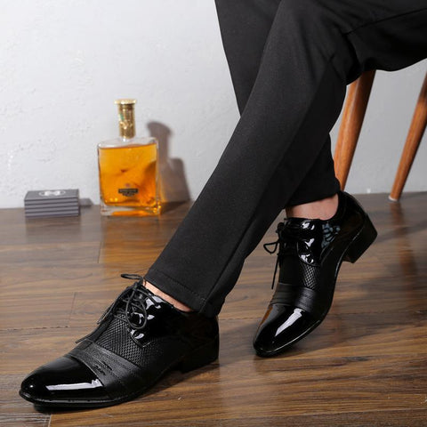 Hollow Outs Breathable Formal Shoes - GaGodeal
