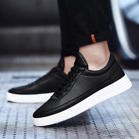 Luxury Brand Men Shoes Leather Casual