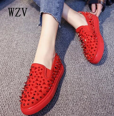 Casual loafers Breathable Flat Shoes