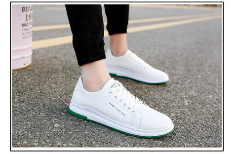 running shoes version canvas Student white shoes men shoes s