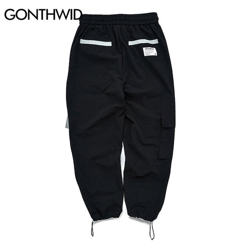 Casual Joggers Baggy Tactical Trousers Pants