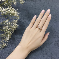 Hollow Flowers Anti Allergy Rings