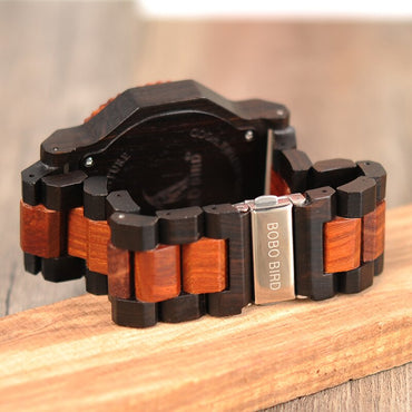 Wooden Quartz Top Luxury Watches