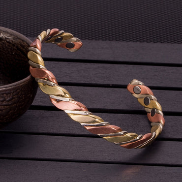 Vinterly Twisted Copper Bracelets & Bangles