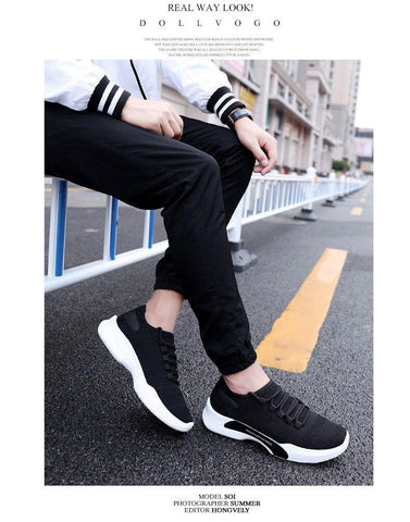 Lightweight Breathable Slip-On Casual Shoes