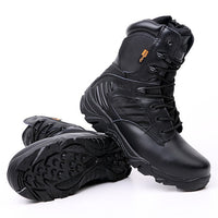 Leather High Performance Waterproof Military Boots