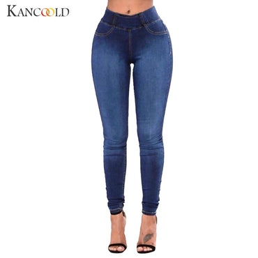 jeans Women Slim Solid Pockets Long Jeans Denim Sexy Skinny Trousers jeans