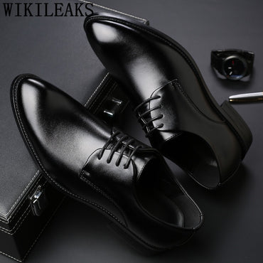 black men suit shoes party men's dress shoes