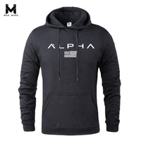 Printed Sportswear Gyms Bodybuilding Sweatshirt Hip-Hop Hoodies