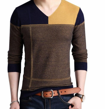 Autumn Winter Thick Warm Mens Sweaters