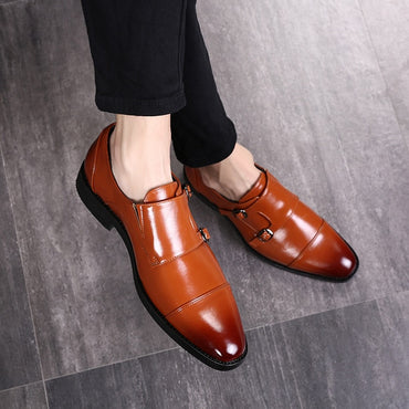 leather formal classic oxford shoes