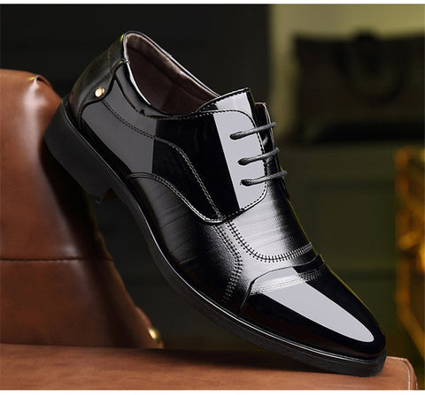 Formal Breathable Shoes Leather Luxury Fashion Groom Wedding Shoes