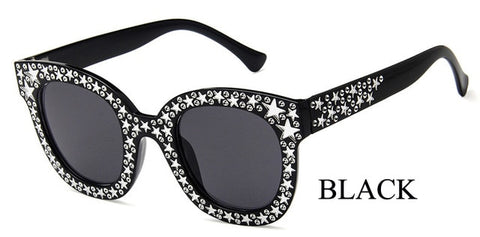 Original Brand Celebrity Oversized Square Sunglasses