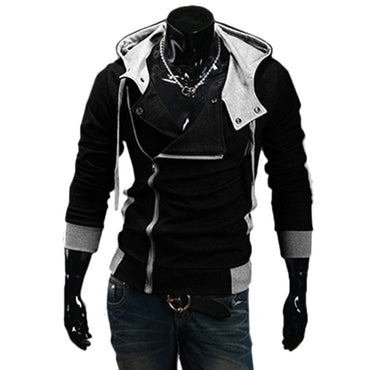 Zipper Cardigan Hoodies Fashion Hooded Sweatshirts
