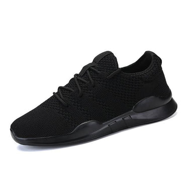 Fashion Mens Casual Shoes Lace-Up Breathable Shoes Sneakers