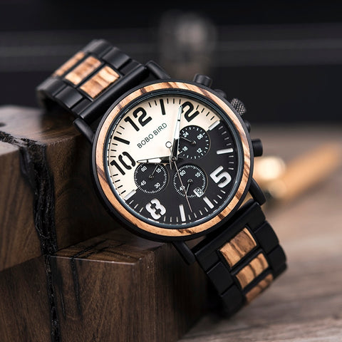 Watches Military Chronography Wristwatches Retro