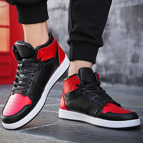 high-top hot sneakers s hard-wearing non-slip