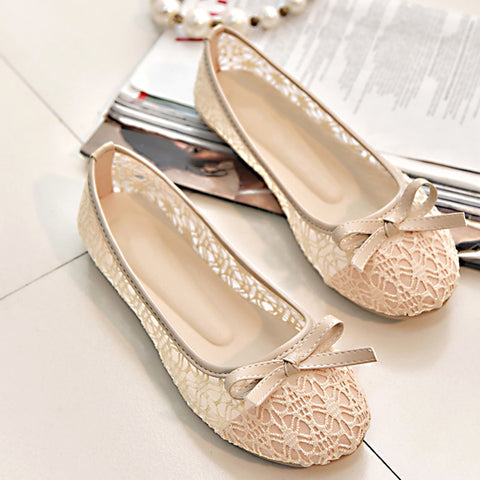 slip on cut outs flat shoes