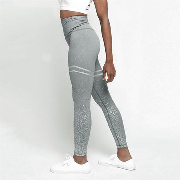 New Double Ring Printing Leggings