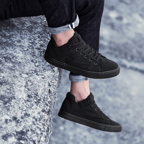 High Top Casual fashion shoes Canvas  Lace Up