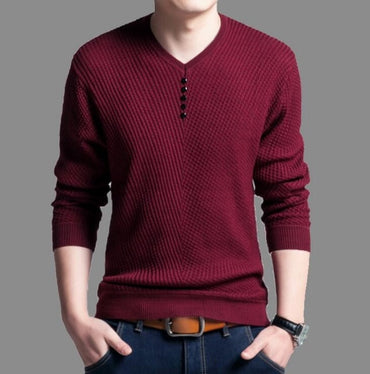 Winter jersey clothing knitwear Slim fit Sweater