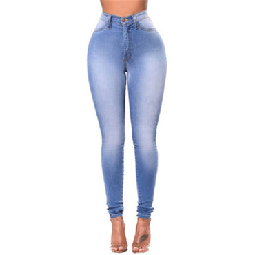 Capris  Skinny Waist Trousers Jeans