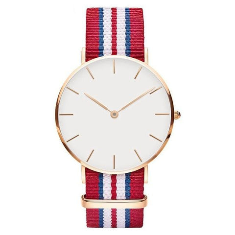 Fashion rose gold women watches