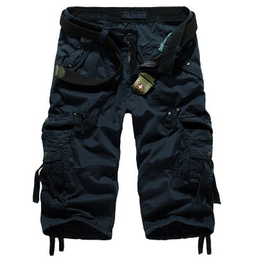 Summer Men's Army Military Work Short