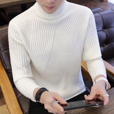 Winter Turtleneck Warm Turtleneck Brand Men Sweaters