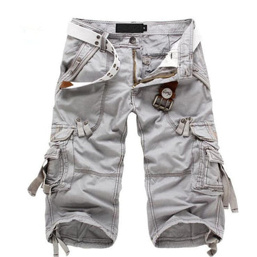 Summer Camouflage Loose Cargo Shorts