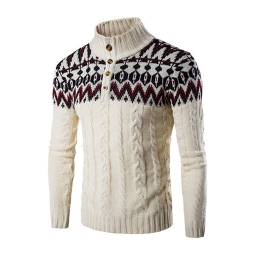 New Fashion Brand Casual Long Sleeved Sweater