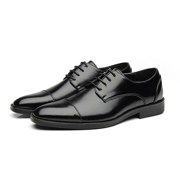 Casual Leather Shoes Office Formal Luxury Breathable Oxfords Shoes
