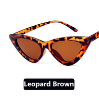 Cat Eye Vintage Brand Small Sunglasses