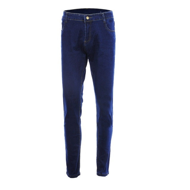 Denim Pencil Pants Fashion Casual Straight Stretch Skinny Trousers  Jeans